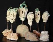 Maschere - Ceramica Raku
