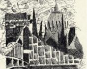 Budapest, frammenti 7 - Inchiostro su carta 12x18 - € 80