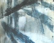 Tracce pneumatiche - Acrilico su tela -  cm 120x150 - € 400