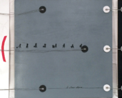 S-Collegati - Collage su tela