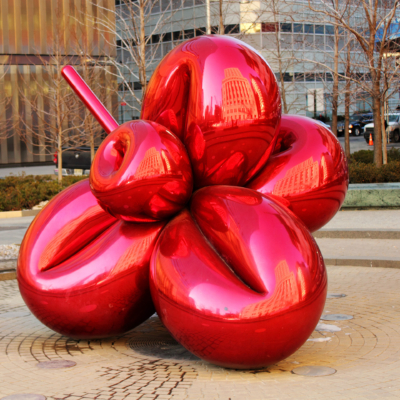 Balloon Flower (Red) by Koons