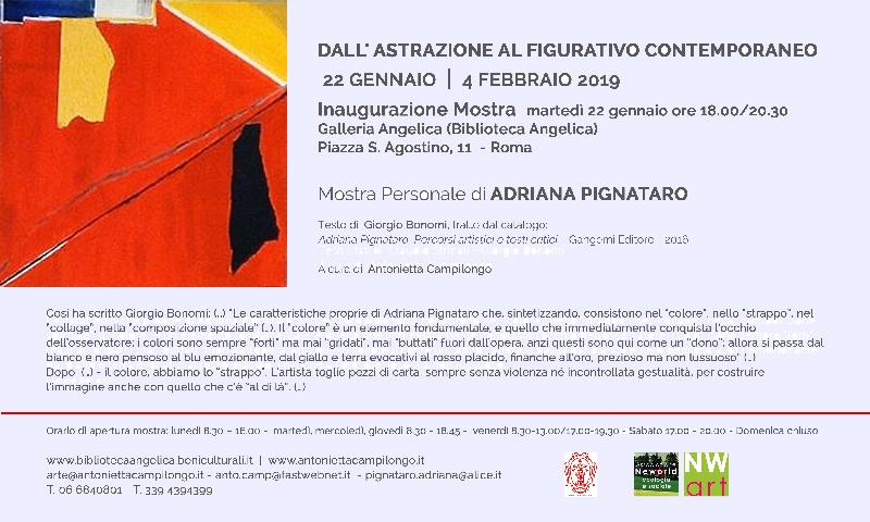 Eventi del 23 Gennaio 2019 – Antonietta Campilongo
