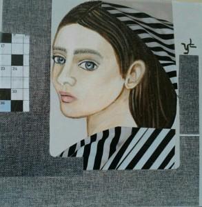 Valentina Lo FaroEnigmaAcrilico, carta, stoffa su tela - Cm 20x20 - € 350