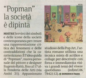 Metro Roma Popman