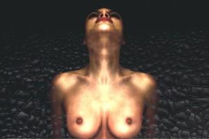 Sebastiano LongoBusto di donnaStampa su tela – Cm 100x70 - € 800