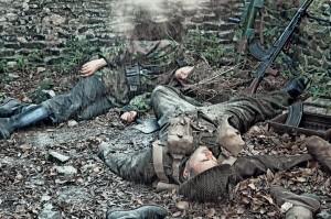Sergio SechiLa battaglia di Caen (con la collaborazione dell' associazione: Noi soldati al fronte 43-45)Stampa FineArt a pigmenti - cm 150x100 - € 500