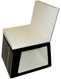 bar-code seduta in cartone riciclato 40x45h80  200