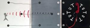 Federica CecchiS-CollegatiCollage cm  60x190  - 2016 - € 800